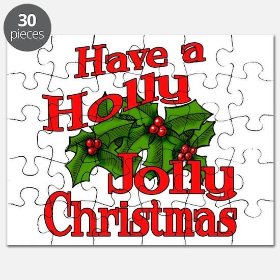 Holly Jolly Xmas Puzzle
