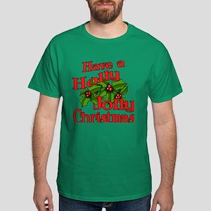 Holly Jolly Xmas Dark T-Shirt