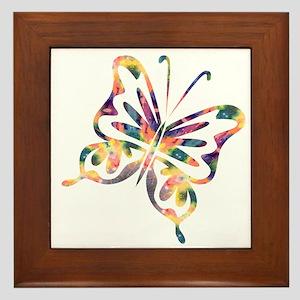 Flutterby - Delight Framed Tile