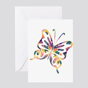 Flutterby - Delight Greeting Card