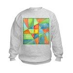 Color Square Abstract 1 Kids Sweatshirt