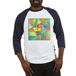 Color Square Abstract 1 Baseball Jersey