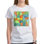 Color Square Abstract 1 Women's T-Shirt