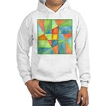 Color Square Abstract 1 Hooded Sweatshirt