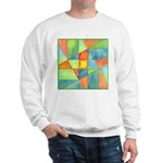 Color Square Abstract 1 Sweatshirt