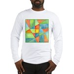 Color Square Abstract 1 Long Sleeve T-Shirt