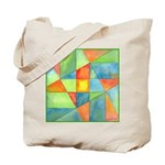 Color Square Abstract 1 Tote Bag