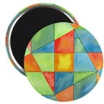 Color Square Abstract 1 Magnet