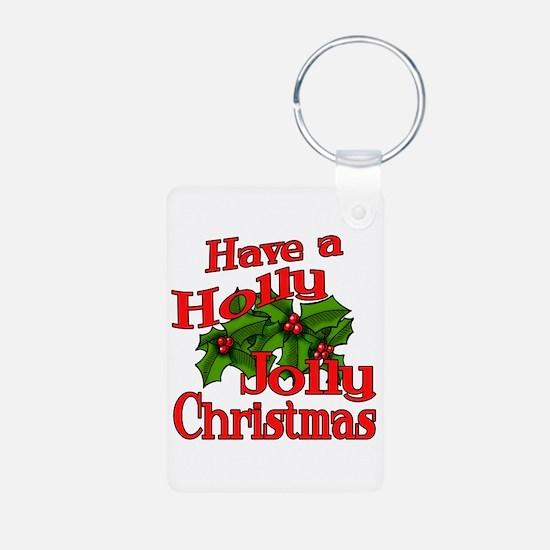 Holly Jolly Xmas Keychains