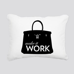 Project Runway Rectangular Canvas Pillow