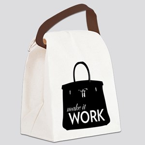 Project Runway Canvas Lunch Bag