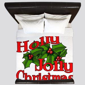 Holly Jolly Xmas King Duvet