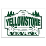Green Yellowstone Large Poster