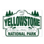 Green Yellowstone Postcards (Package of 8)