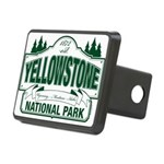Green Yellowstone Rectangular Hitch Cover