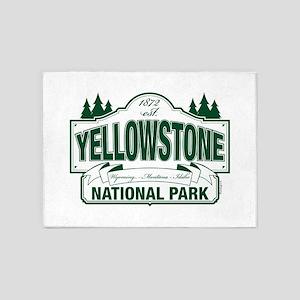 Green Yellowstone 5'x7'Area Rug