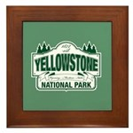 Green Yellowstone Framed Tile