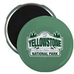 Green Yellowstone Magnet