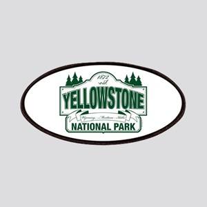 Green Yellowstone Patches