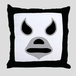 El Santo Throw Pillow