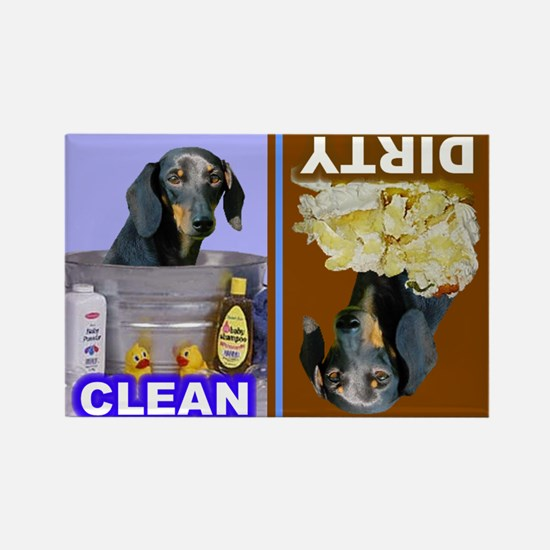 4-3-Dishwasher -RecMag -Dachshund,BT Magnets