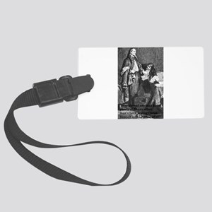 Fox Quote Large Luggage Tag