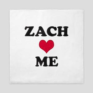 Zach Loves Me Queen Duvet