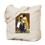 The Kiss - Two Bernese Tote Bag