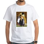 The Kiss - Two Bernese White T-Shirt