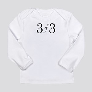 3 of 3 (3rd child) Long Sleeve T-Shirt