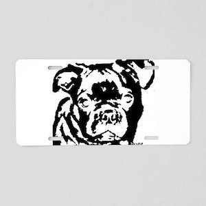 bugg_bw Aluminum License Plate