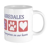 FIN-airedale-terrier-pawprints 20 oz Ceramic M