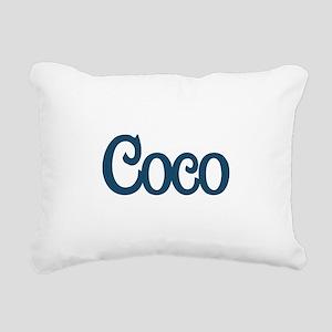 Coco Rectangular Canvas Pillow