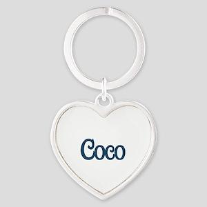 Coco Heart Keychain