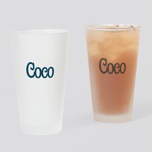 Coco Drinking Glass
