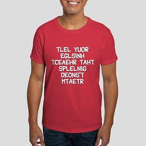 Funny! spelling teacher Dark T-Shirt