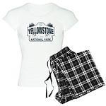 Yellowstone NP Blue Women's Light Pajamas