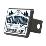 Yellowstone NP Blue Rectangular Hitch Cover