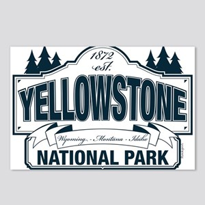 Yellowstone NP Blue Postcards (Package of 8)