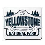 Yellowstone NP Blue Mousepad