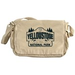 Yellowstone NP Blue Messenger Bag