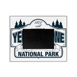 Yellowstone NP Blue Picture Frame