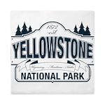 Yellowstone NP Blue Queen Duvet
