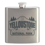 Yellowstone NP Blue Flask