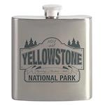 Yellowstone NP Blue Flask
