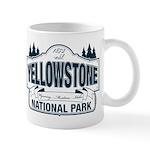 Yellowstone NP Blue Mug