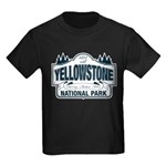 Yellowstone NP Blue Kids Dark T-Shirt