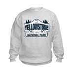 Yellowstone NP Blue Kids Sweatshirt