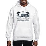 Yellowstone NP Blue Hooded Sweatshirt