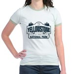 Yellowstone NP Blue Jr. Ringer T-Shirt